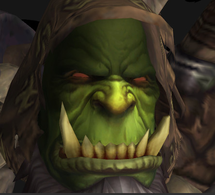 Gul'Dan Character Model Face