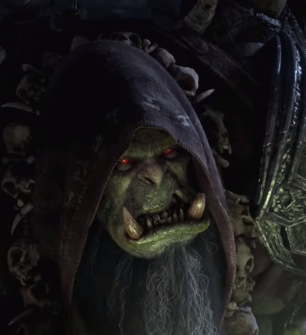 Gul'dan Cinematic face