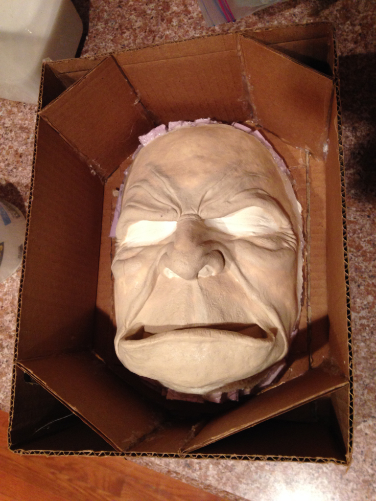 Guldan face mold