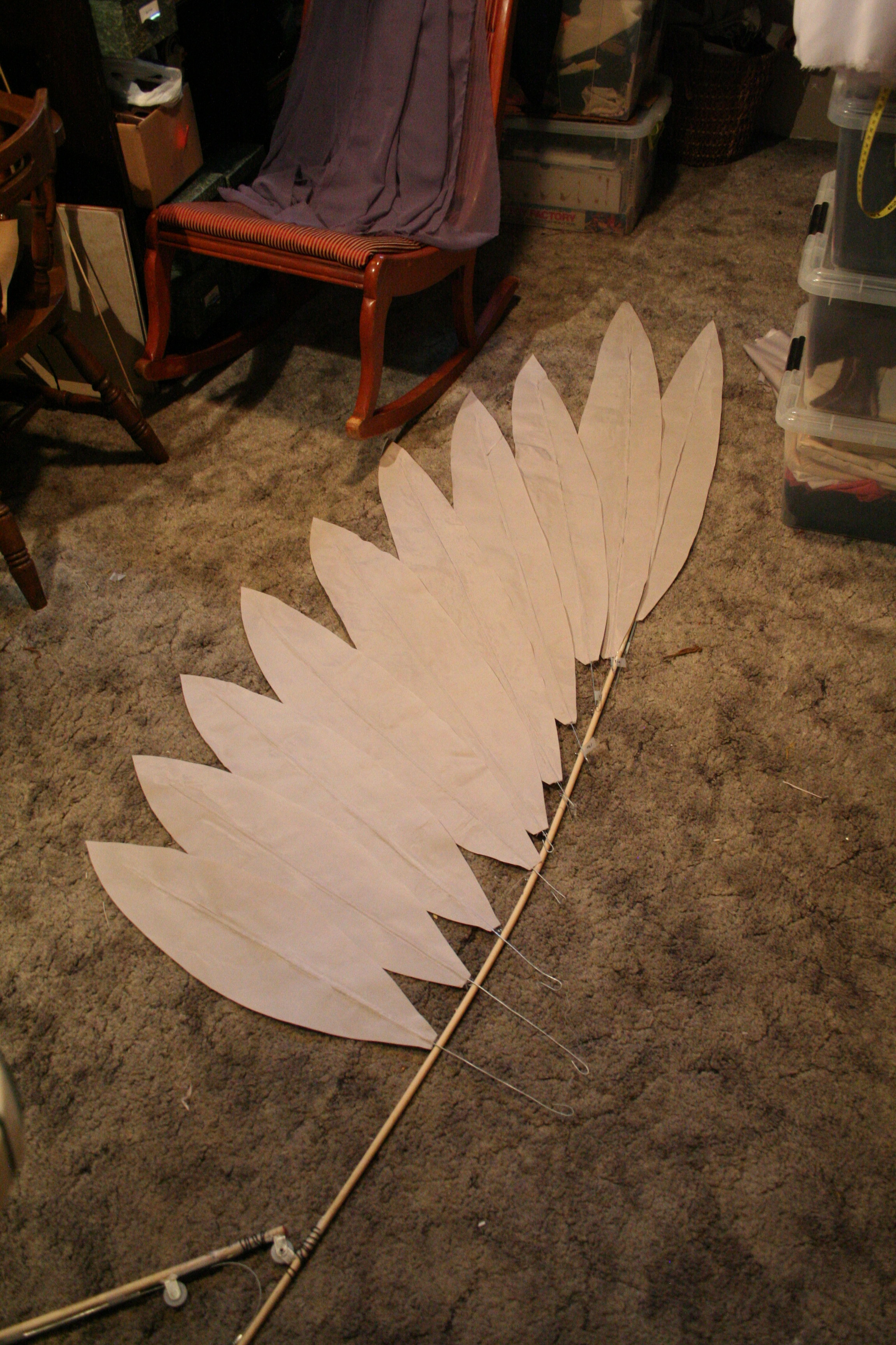Wing in Progress
